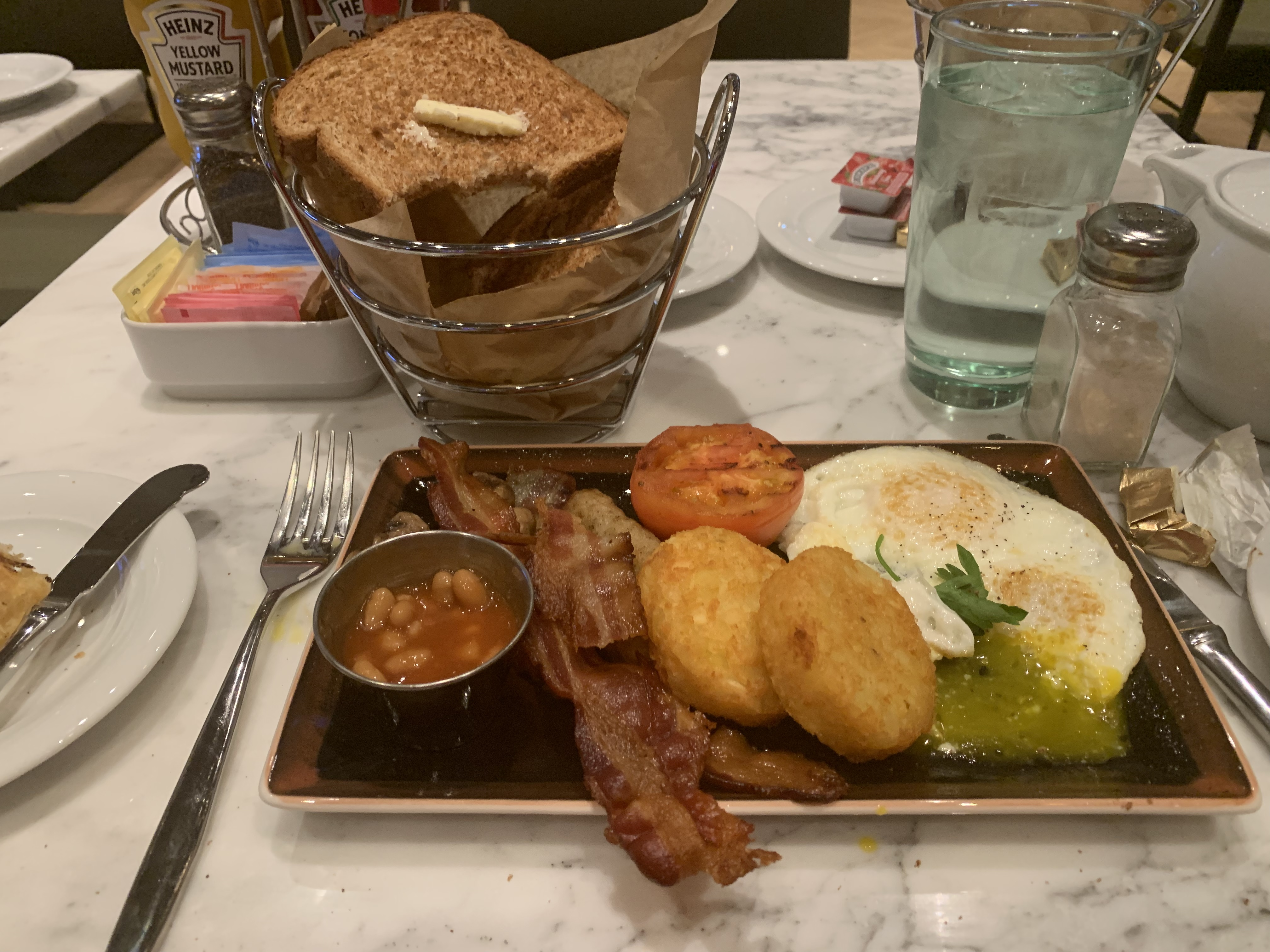 Big breakfast the local is open 24 hrs!