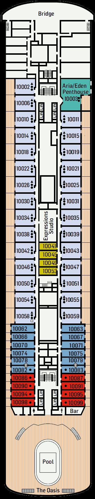 Pacific Aria Deck 10