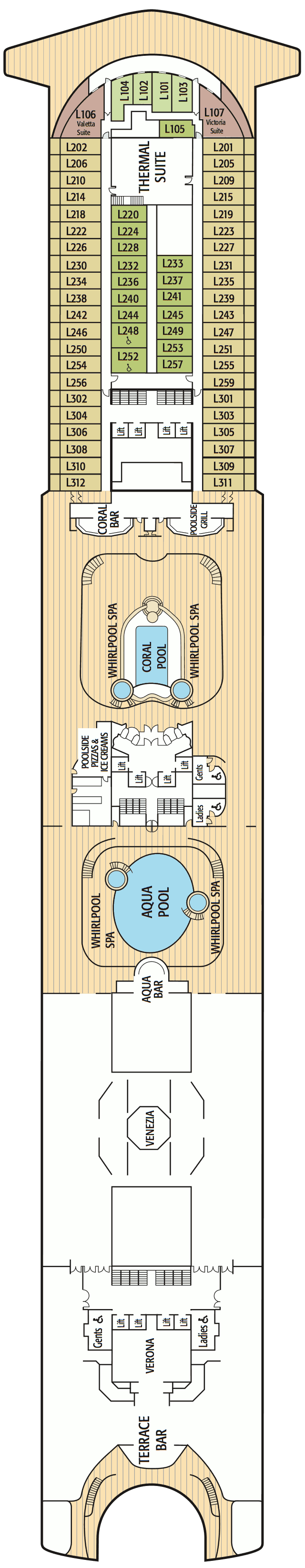 Azura Deck 15