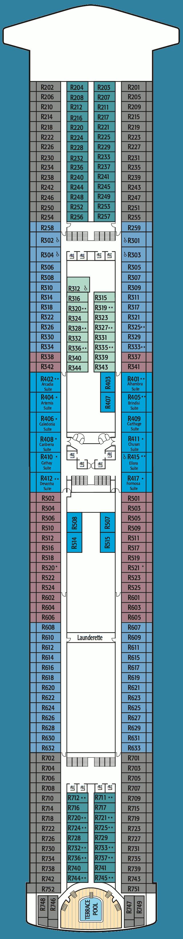 Azura Deck 14