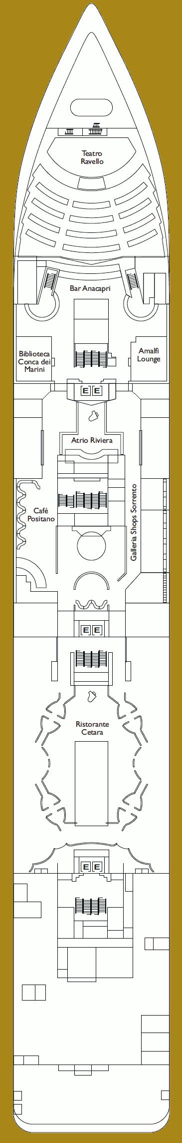 Costa neoRiviera Deck 5