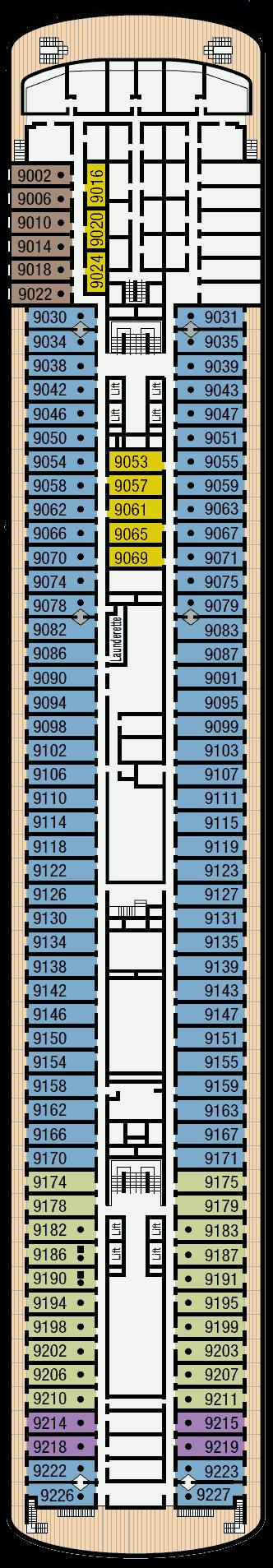 Pacific Aria Deck 9