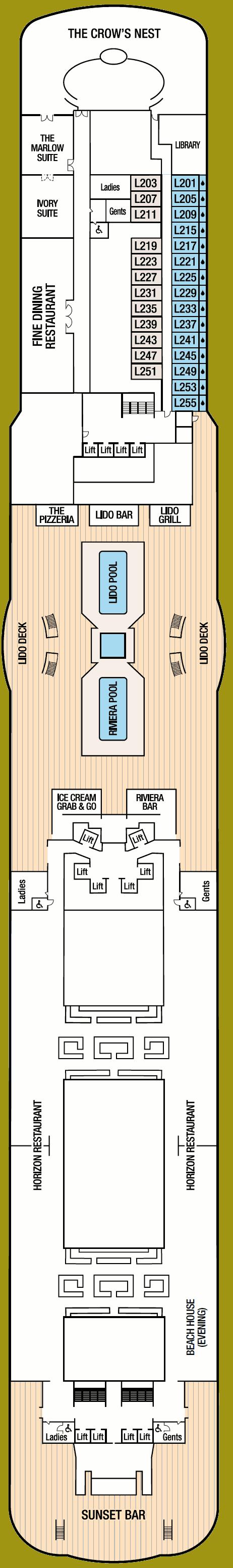 Britannia Deck 16