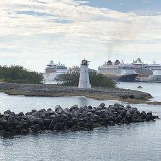 Entering Nassau