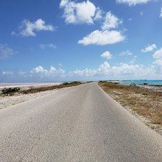 Salt Pond and Caribbean Sea