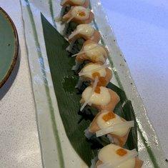Food republic Sushi. Fish cut was too small