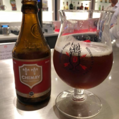 Belgium beer at Grand Dutch Cafe