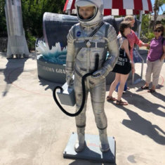 Space Exhibit in Grand Turk
