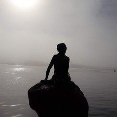 Little Mermaid at Dawn