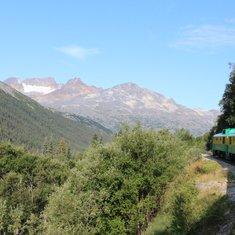 White Pass and Yukon Railway ride