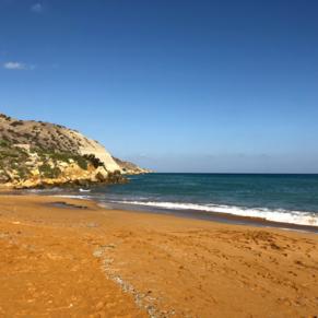 Red Sand Beach Gozo