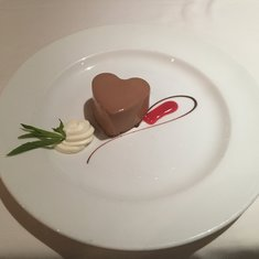 Princess Love Boat Dessert