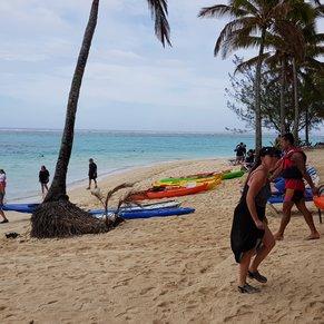 Beach nearby resort