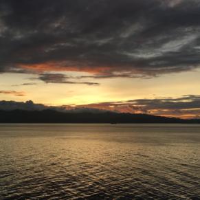 Sunrise over Grenada