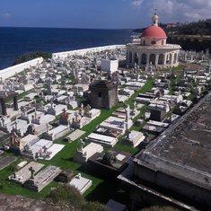 Cemetery near El Morrow