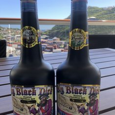 Scored Big Black Dick rum in St. Maarten