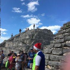 Fun was had at the Mayan ruins