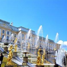 Palace grounds.