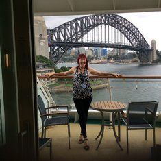 Sydney... and our balcony!