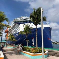 Celebrity Edge in Nassau