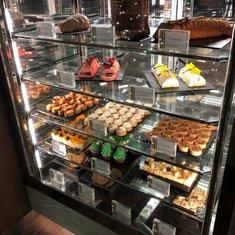 Cake Selection in Cafe al Bacio