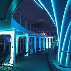 Resort Deck at Night