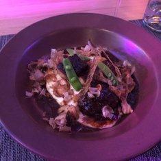 Pork dish in Eden Restaurant