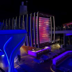Prism Bar by the pool