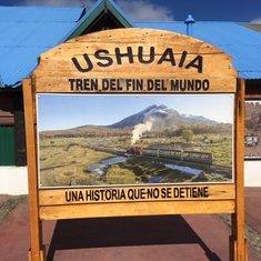 Tierra Del Fuego train
