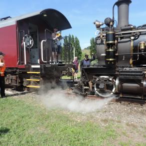 Steam train great trip