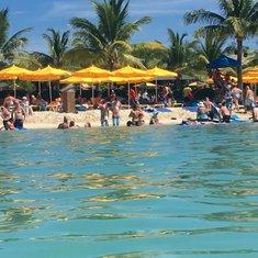 the beach in Honduras
