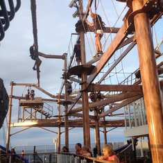 Ropes course. So much fun.