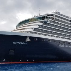 Oosterdam at sea