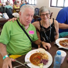 The results of the cooking class in Cozumel
