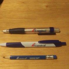 Good bye ballpoint pens, hello toothpick size pencils